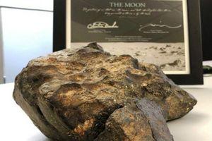 Vì sao đại gia Việt chi hơn 14 tỷ đồng để mua thiên thạch Mặt Trăng từ Mỹ?