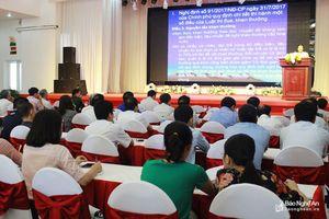 Hơn 600 người tham gia tập huấn nghiệp vụ công tác thi đua, khen thưởng