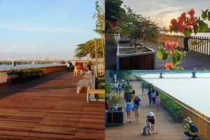 Huế càng thêm mộng thêm mơ nhờ có cây cầu đi bộ bằng gỗ lim độc đáo