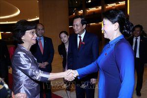 Chủ tịch Quốc hội Nguyễn Thị Kim Ngân tiếp các Trưởng đoàn tham dự Hội nghị Bộ trưởng phụ nữ ASEAN lần thứ ba