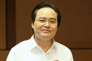 Nhận tín nhiệm thấp nhất, Bộ trưởng GD&ĐT Phùng Xuân Nhạ chia sẻ gì?