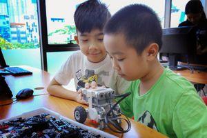 Ngày hội Robothon- Niềm đam mê của các 'fan' robot