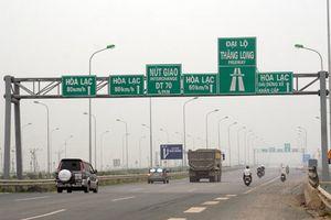 Tổ chức lại giao thông trên Đại lộ Thăng Long