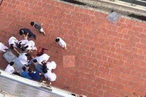 Hà Nội: Nam bệnh nhân rơi từ tầng 6 tòa nhà bệnh viện xuống đất tử vong