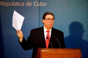 Cuba cáo buộc Mỹ theo đuổi 'con đường đối đầu'