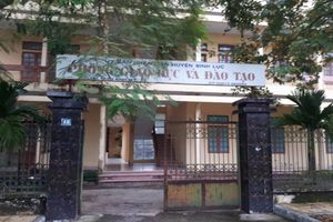 Hà Nam: 'Bất thường' trong điều chuyển cán bộ tại Phòng giáo dục H. Bình Lục?