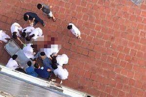 Hà Nội: Nam bệnh nhân tử vong sau khi nhảy từ lầu 6 bệnh viện xuống đất