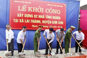 Ninh Bình: Khởi công xây dựng nhà tình nghĩa cho hộ nghèo