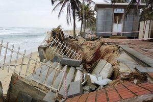 Đà Nẵng chỉ đạo khắc phục sạt lở bờ biển Mỹ Khê