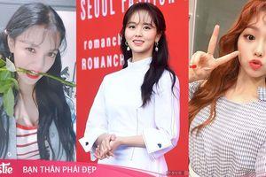 Tóc mái 'ăng ten': Mốt tóc mới khó nhằn chỉ sao Hàn 'xinh như mộng' mới có thể hợp