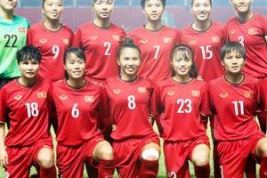 Đội tuyển nữ Việt Nam xếp vị trí 36 thế giới