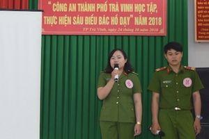 Công an TP Trà Vinh tổ chức hội thi 'Học tập, thực hiện Sáu điều Bác Hồ dạy'