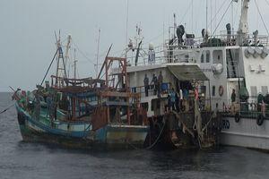 Phát hiện 3 tàu chở dầu vận chuyển 250.000 lít dầu DO trái phép