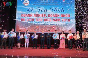 Bình Thuận vinh danh các doanh nghiệp du lịch tiêu biểu