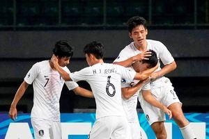 Được hưởng 3 quả penalty, U19 Hàn Quốc thắng dễ U19 Việt Nam
