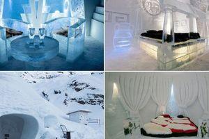 Như lạc vào thiên đường trước những khách sạn băng tuyết được yêu thích nhất trên thế giới