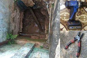 Ổ nhóm 'siêu trộm' đào 6 mét hầm trong hơn 1 tháng, kiếm bạc tỷ