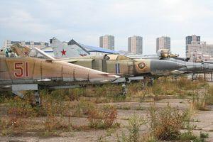 Ngạc nhiên trước 'nghĩa địa máy bay' quân sự cực lớn ngay giữa thủ đô nước Nga