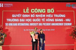 Đại học Quốc tế Hồng Bàng có hiệu trưởng mới