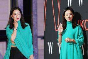 Minh tinh Kim Hee Sun mặc khó hiểu trong sự kiện toàn sao hạng A