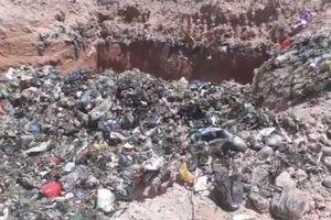 Xử phạt 350 triệu đồng vì chôn lấp chất thải rắn