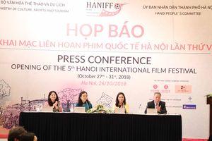 LHP Quốc tế Hà Nội lần thứ V: Nơi hẹn hò của những tác phẩm điện ảnh đỉnh cao