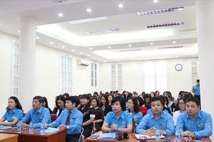 Công đoàn Xây dựng Việt Nam: Tập huấn nghiệp vụ công tác nữ công