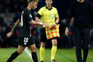 Neymar đùng đùng nổi giận, coi khinh HLV PSG ra mặt