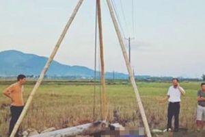 NÓNG: 4 người tử vong khi dựng cột điện trung thế