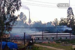 Khí thải từ nhà máy sấy cau 'tấn công' khu dân cư