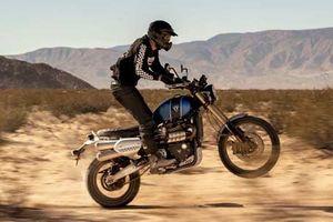 Triumph 'nhá hàng' xe môtô Scrambler 1200cc hoàn toàn mới