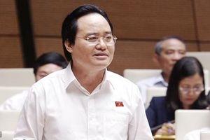 Bộ trưởng Bộ GD&ĐT chia sẻ trước Quốc hội 3 vấn đề 'nóng' về giáo dục