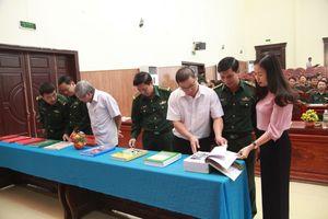 Ninh Bình: Tổng kết và trao giải Cuộc thi tìm hiểu về 'Biên giới và BĐBP'
