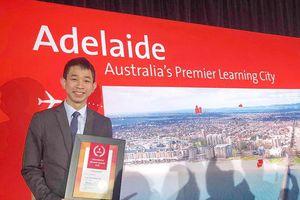Sinh viên VN đạt giải thưởng xuất sắc ở Nam Úc