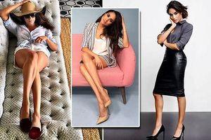 'Soi' tủ giày phong cách của công nướng Anh Meghan Markle