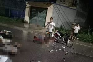Tin mới vụ hai xe máy va chạm làm 7 người thương vong