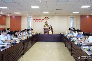 Hội đồng nhân dân tỉnh Nghệ An sẽ lấy phiếu tín nhiệm đối với 31 chức danh