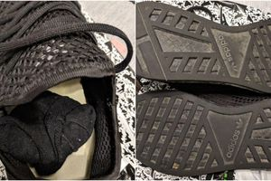 CẢNH BÁO MUA HÀNG ONLINE: Mua đồ hiệu mà nhận về đôi giày cũ mèm và một chiếc tất thối hoắc