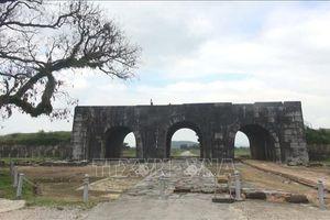 92.500 USD tu sửa mái vòm và bảo tồn cổng thành phía Nam Thành nhà Hồ