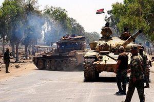 Khủng bố và quân đội Syria đấu pháo dữ dội ở vùng đệm Idlib