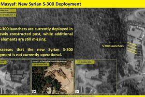 Israel công bố ảnh vệ tinh phơi bày hệ thống S-300 Syria