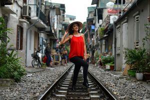Tuyến đường sắt Hà Nội 'hot' trên báo nước ngoài