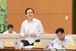 Bộ trưởng Nhạ: 'Phải kiên định mục tiêu đổi mới giáo dục'