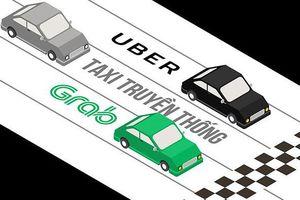 Lo bị siết quản lý như taxi truyền thống, Grab 'cầu cứu' Thủ tướng