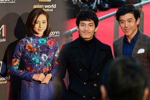Ngô Thanh Vân, Leon Quang Lê, Liên Bỉnh Phát xuất hiện trên thảm đỏ LHP tại Mỹ và Nhật, quảng bá 'Song Lang' và 'Cô Ba Sài Gòn'
