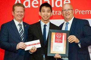Tự hào một sinh viên ĐH Bách Khoa TP.HCM trở thành sinh viên quốc tế xuất sắc nhất ở Úc