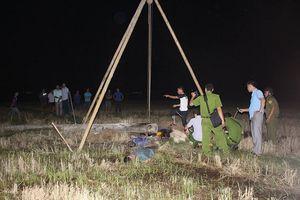 Thông tin mới nhất vụ 4 công nhân bị điện giật chết trên cánh đồng