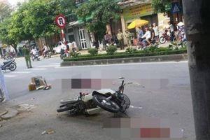 Thái Bình: Xe máy va chạm với xe tải, một nạn nhân tử vong thương tâm