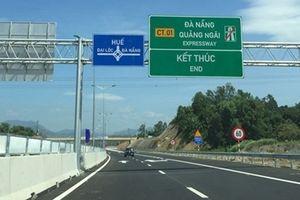 Ngày mai, cao tốc Đà Nẵng – Quảng Ngãi thu phí trở lại