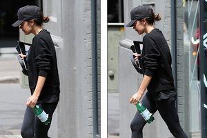 Victoria Beckham lộ đôi mắt sưng húp, đội mũ che kín mặt khi xuống phố